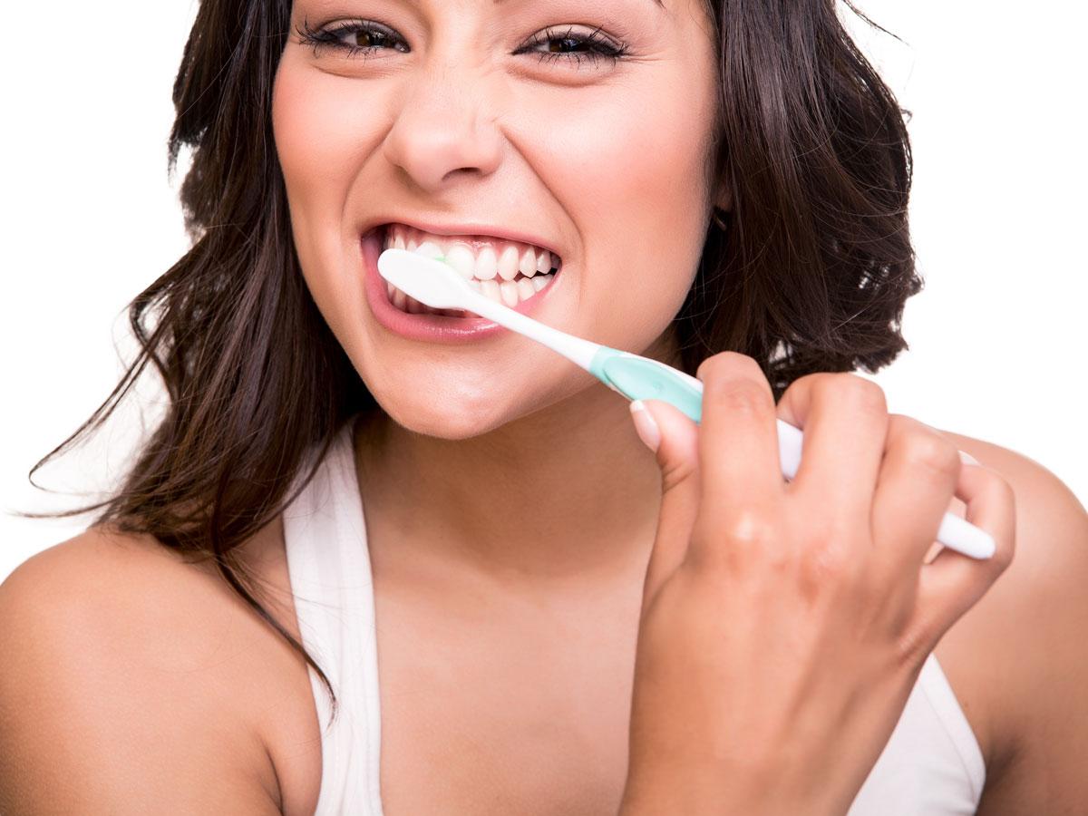Zahnfleischbluten durch Zähneputzen?