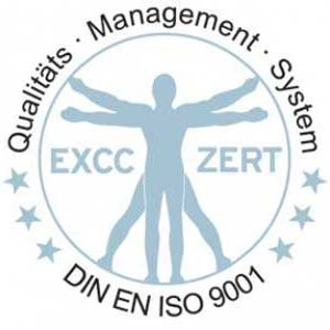 Sicher ist sicher! Zertifiziertes Qualitätsmanagement.