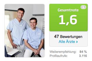 jameda – Deutschlands größte Ärzteempfehlung